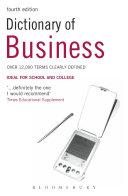 Dictionary of Business Pdf/ePub eBook