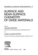 Surface and Near surface Chemistry of Oxide Materials