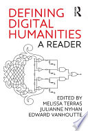 Defining Digital Humanities