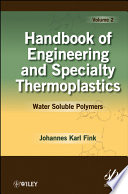 Handbook of Engineering and Specialty Thermoplastics  Volume 2 Book