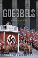 Goebbels [Pdf/ePub] eBook
