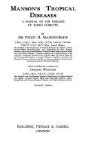 Manson s Tropical Diseases Book