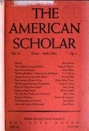 The American Scholar Book