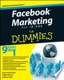 """Facebook Marketing All-in-One For Dummies®"" by Amy Porterfield, Phyllis Khare, Andrea Vahl"
