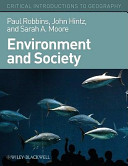 Cover of Environment and Society