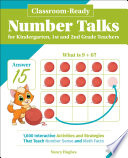 Classroom Ready Number Talks for Kindergarten  First and Second Grade Teachers