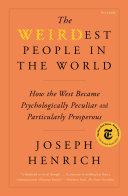 The WEIRDest People in the World Pdf