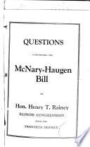 The McNary-Haugen Bill