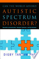 Can the World Afford Autistic Spectrum Disorder