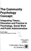 The Community Psychology Concept