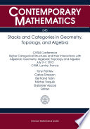 Stacks and Categories in Geometry  Topology  and Algebra