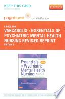 Essentials of Psychiatric Mental Health Nursing Pageburst E-book on Vitalsource Retail Access Card