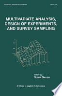 Multivariate Analysis, Design of Experiments, and Survey Sampling