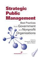 Strategic Public Management
