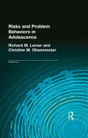 Risks and Problem Behaviors in Adolescence Book