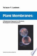 Plant Membranes Book