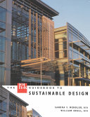 The Hok Guidebook To Sustainable Design Book PDF