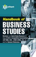 Handbook Of Business Studies