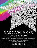 Snowflakes Coloring Book Book PDF