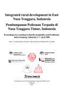 Pembangunan pedesaan terpadu di Nusa Tenggara Timur, Indonesia