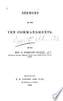 Sermons on the Ten Commandments