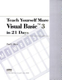 Teach Yourself More Visual Basic 3 in 21 Days