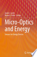 Micro-Optics and Energy