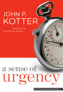A Sense of Urgency