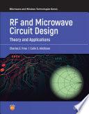 RF and Microwave Circuit Design Book