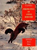Perspectives on Animal Behavior
