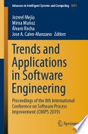 Trends and Applications in Software Engineering