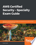 Aws Certified Security Specialty Exam Guide Book PDF