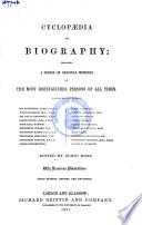 Cyclopaedia Of Biography