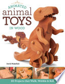 Animated Animal Toys in Wood