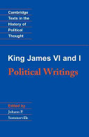 King James VI and I: Political Writings