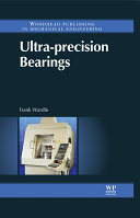 Pdf Ultra-precision Bearings