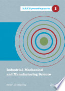 Industrial  Mechanical and Manufacturing Science