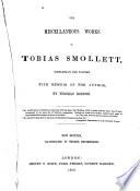 The Miscellaneous Works of Tobias Smollett     Book