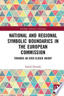 National and Regional Symbolic Boundaries in the European Commission