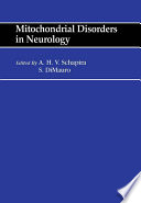 Mitochondrial Disorders in Neurology