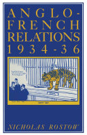 Anglo-French Relations 1934-36