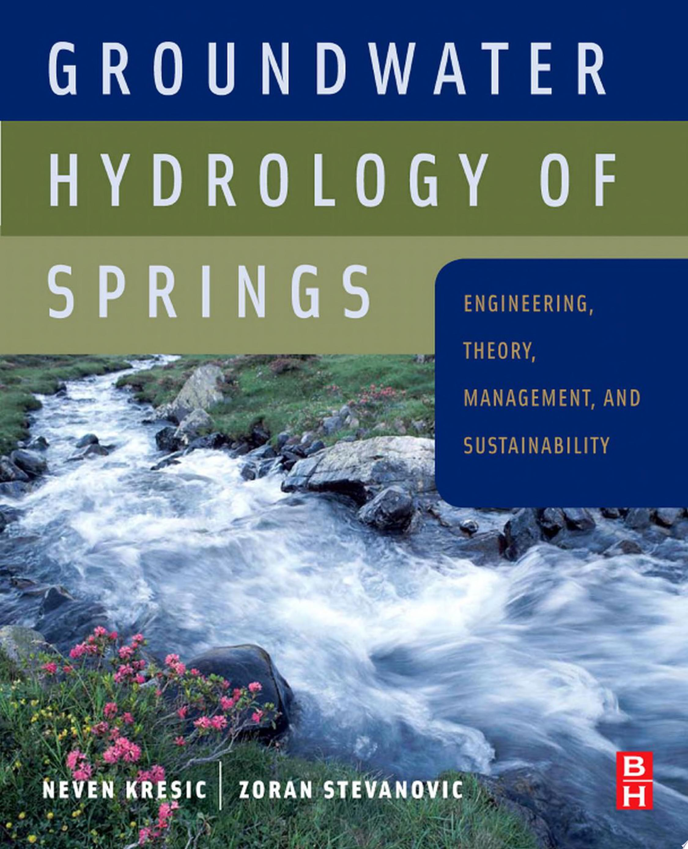 Groundwater Hydrology of Springs
