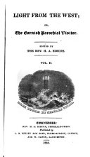 Pdf Light from the West; or, The Cornish parochial visitor, ed. by H.A. Simcoe. [2 issues of vol. 1].