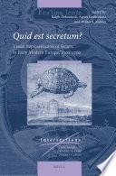 Quid est secretum  Book PDF