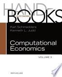 Handbook Of Computational Economics Book PDF
