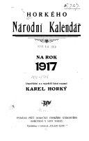 Horkého národní kalendář