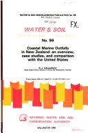 Coastal Marine Outfalls in New Zealand