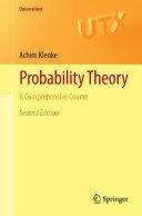 Probability Theory [Pdf/ePub] eBook