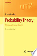 """""""Probability Theory: A Comprehensive Course"""" by Achim Klenke"""