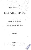 The British Homoeopathic Review
